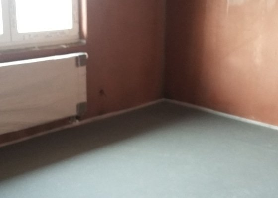 Anhydritové podlahy 100m2