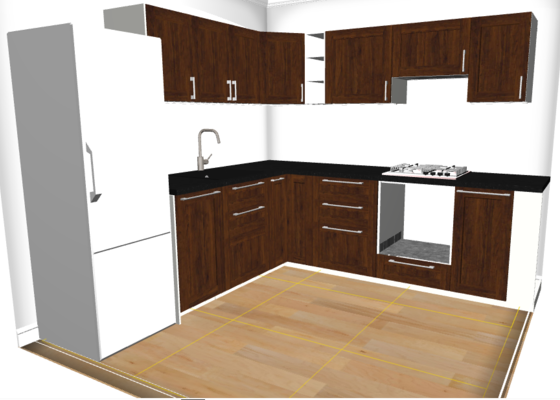 Montáž kuchyně IKEA