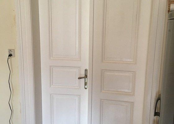 Renovace starých dřevěných interierových dveří