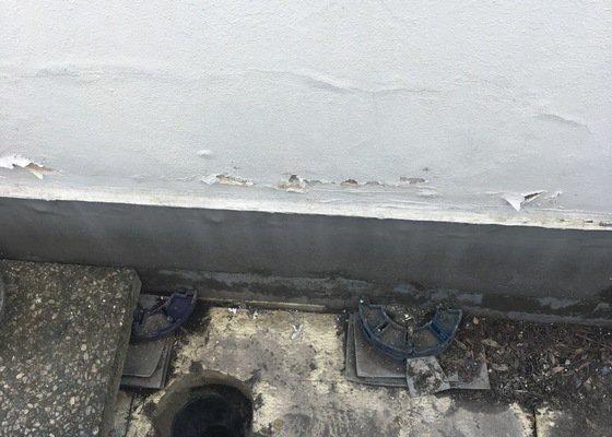 Oprava svodu z terasy, izolace