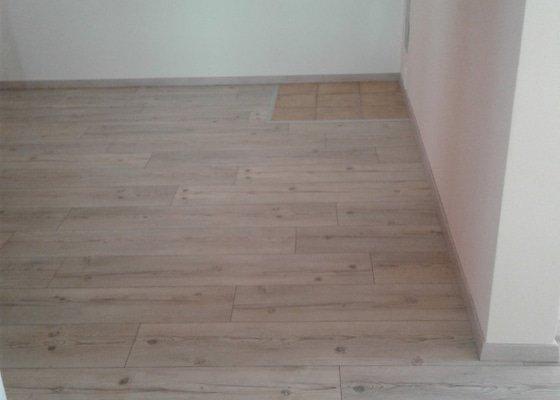 Pokládka plovoucí podlahy a montáž SDK podhledu