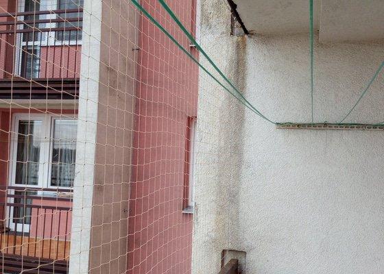 Síť proti holubům