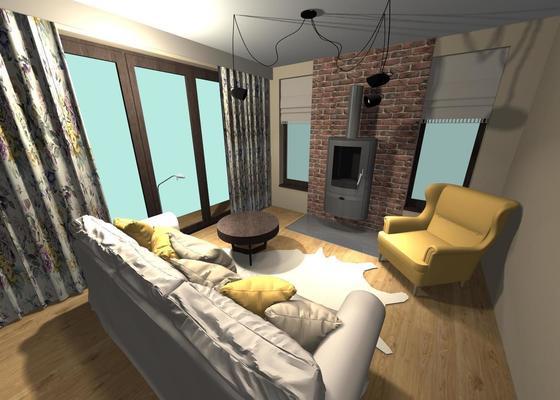 Návrh dispozic a vnitřního vybavení rodinného domku
