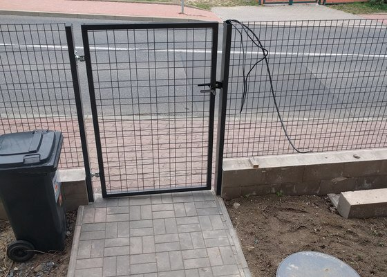 Instalace zvonku a 2-krát domácí videotelefon v RD