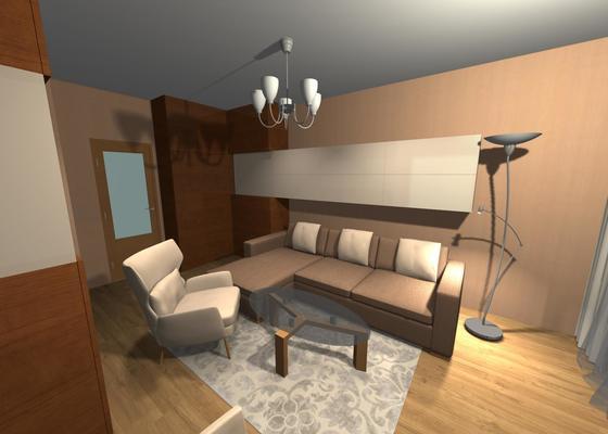 Návrh obývacího pokoje s Virtuálním bydlením