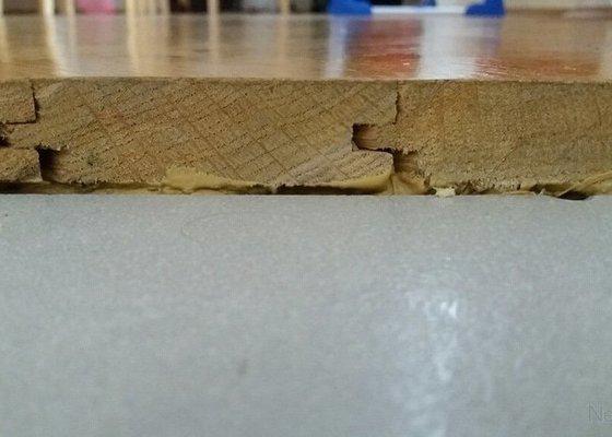 Truhlářské práce - dřevěný práh na míru