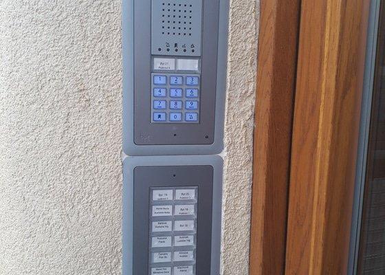 Instalace domovních telefonů a videotelefonů