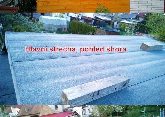Pokrytí střechy zahradního domku/přístěnku (do 40m2)