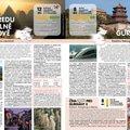 Vnitřní dvoustrana katalogu zájezdů pro CK China Tours, 2018