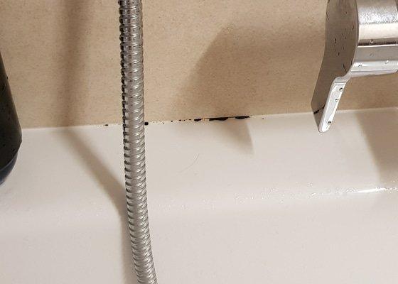Montáž sprchy, montáž beterie, oprava silikonu
