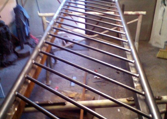 Výroba a montáž kovového zábradlí