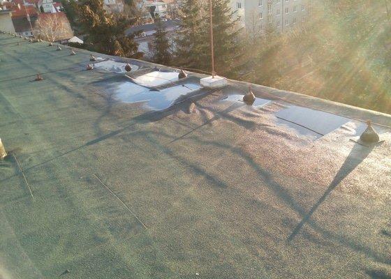 Oprava rovné asfaltové střechy