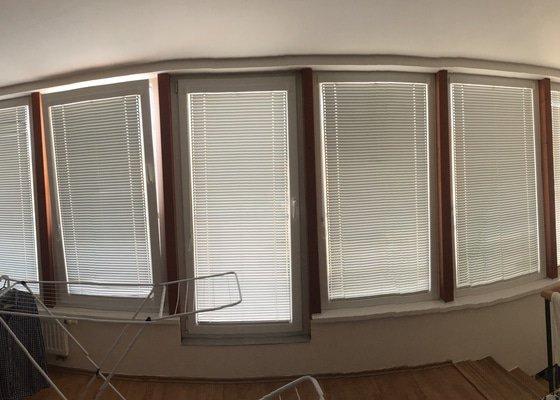 Mytí oken včetně žaluzií