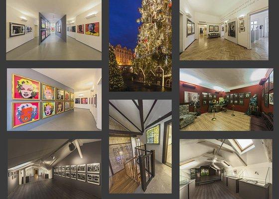 Fotografie výstavních prostorů galerie GOAP