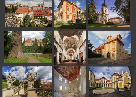 Fotografie staveb pro publikaci o barokním architektovi