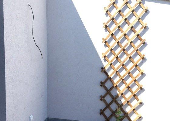 Zámečník k výrobě žebříku pro přístup z terasy na střechu