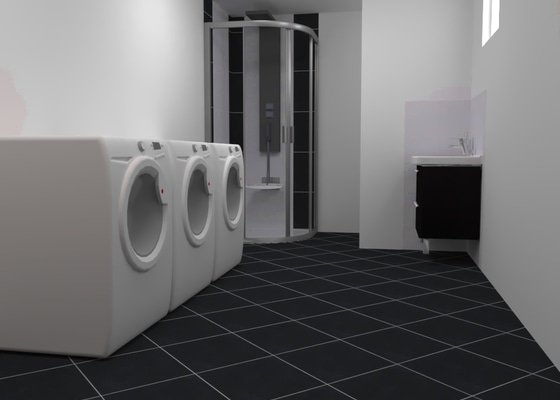 Rekonstrukce prádelny