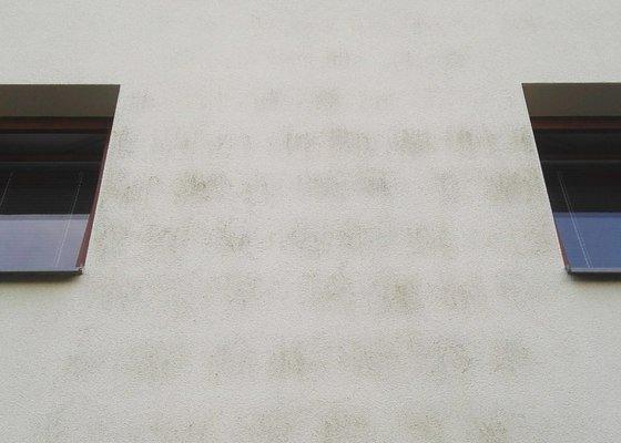 Vyčištění fasády u RD