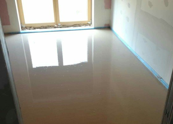 Litá anhydridová podlaha a