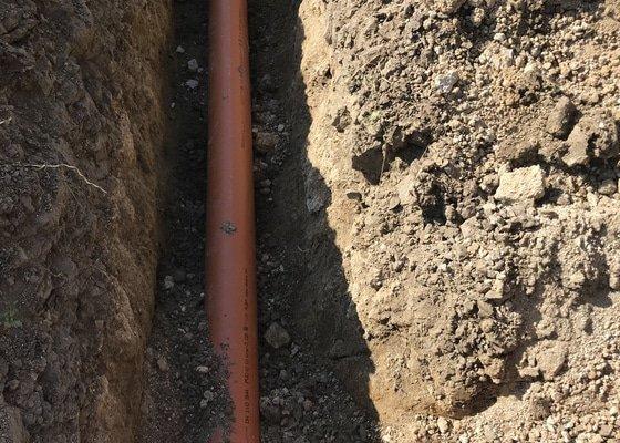 Hydroizolace a nová dešťová kanalizace