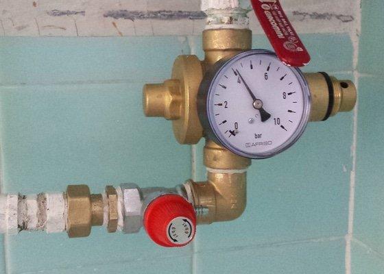 Oprava pojistného ventilu u bojleru
