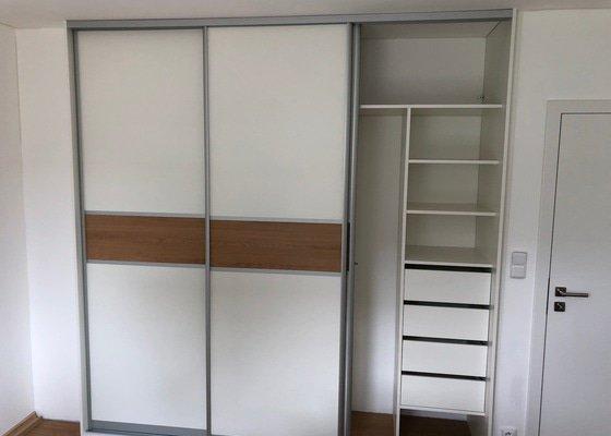 Vestavěné skříně pro nový rodinný dům