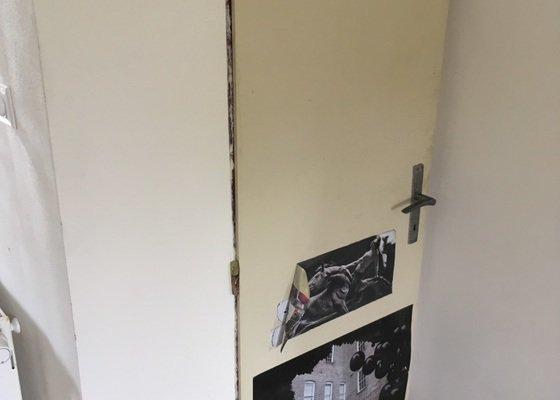 Přesváření pantů z jedné strany dveří na druhou