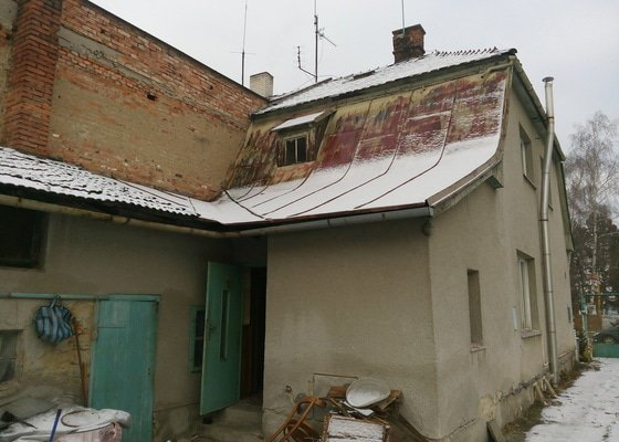 Bourací práce - přístavek RD - Brodek u Přerova
