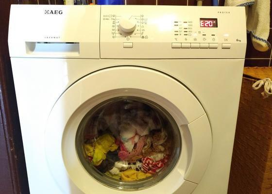 Oprava pračky AEG Lavamat 60460 FL