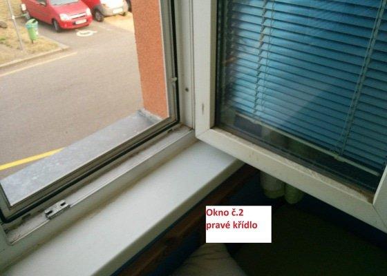 Umytí oken v domácnosti, Praha 4