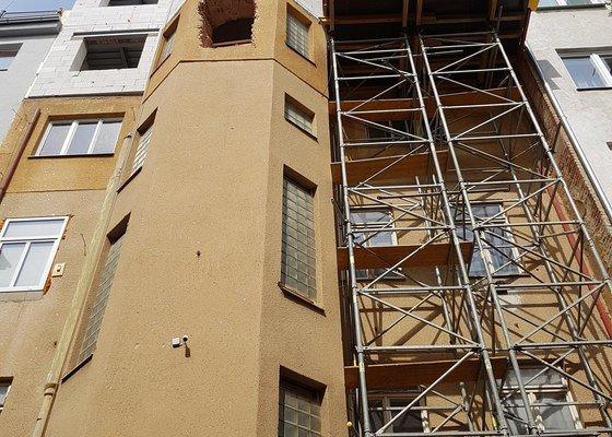 Hromosvod na bytový dům