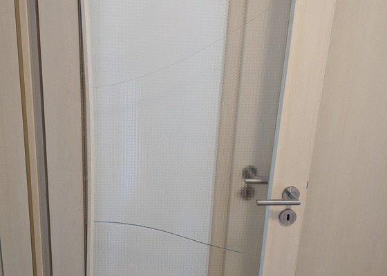 Vymena skla ve dverich