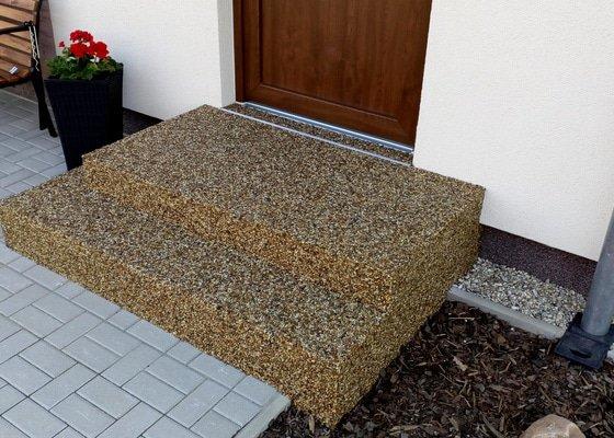 Kamenný koberec-pokládka