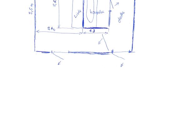 Položení lina (PVC)