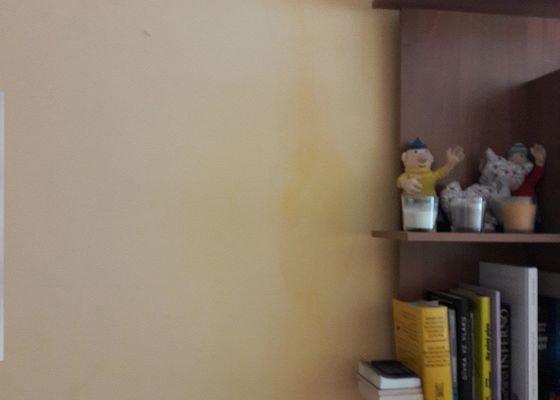 Vymalování bytu 2+kk v panelovém domě po vyplavení vodou od souseda