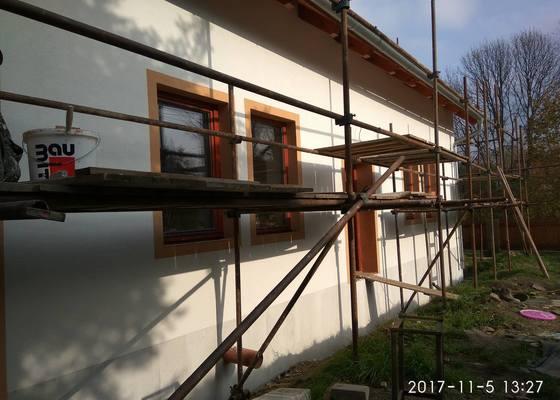 Fasáda novostavby rodinného domu