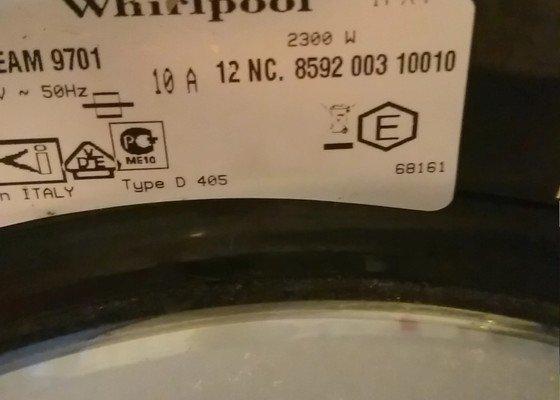 Výměna manžety pro pračku Whirlpool 6sense aquasteam 9701