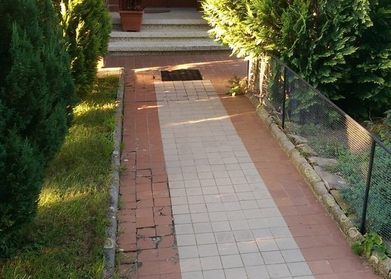 Kamenný koberec - venkovní pokládka