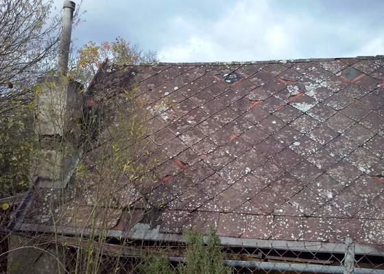 Rekonstrukce strechy chata