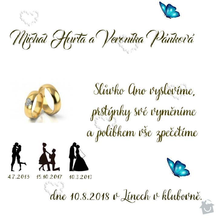Tisk navrhu svatebniho oznameni: 5242018223816