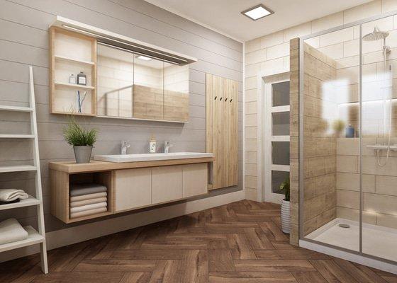 Návrh koupelny v prvorepublikovém domě