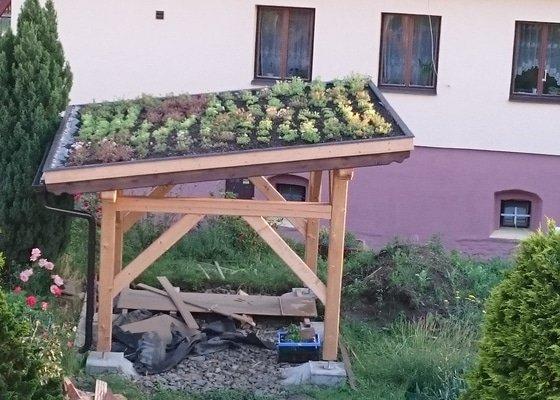 Zelená střecha  - pergola