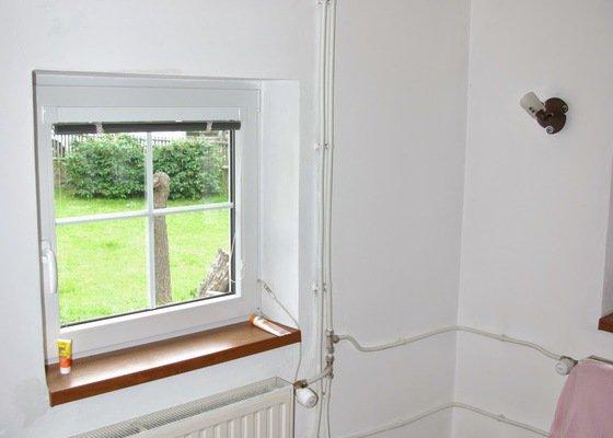 Servis oken - 2 okna nelze otevírat a zavírat