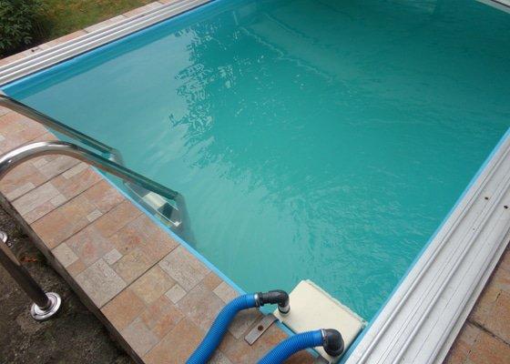 Vyčištění bazénové vody - 9m3
