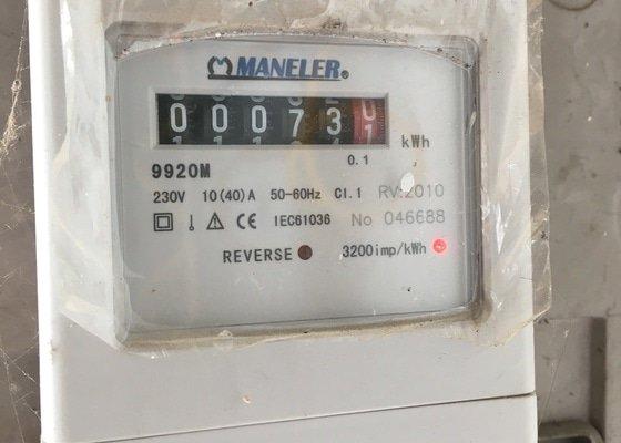 Natažení nové elektroinstalace v garáži (18m2)