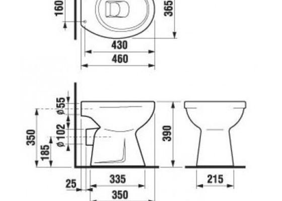 Výměna wc mísy