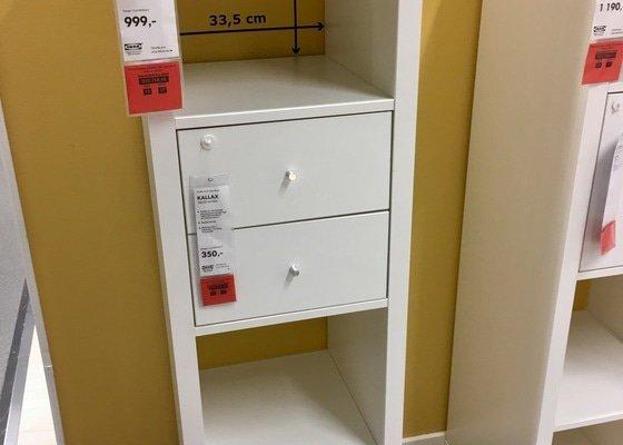Složit 2 ks jednoduchého nábytku z Ikea