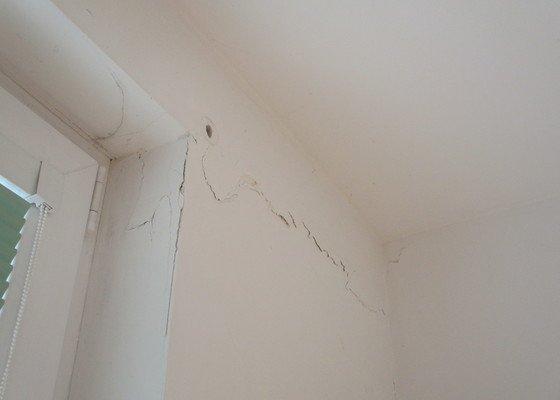 Renovace stěn bytu a sádrokartonový podhled