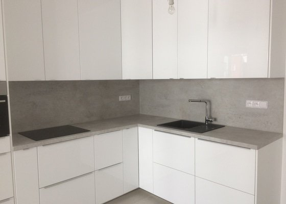 Montáž kuchyně IKEA, příprava rozvodů el, vody, odpadu