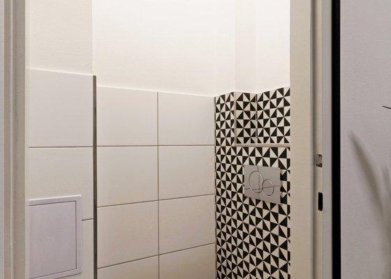 Přestavba bytu 3+1 na 4+kk, návrh dispozice a interiérů